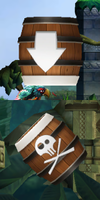 Two types of Barrel Cannon