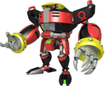 E-123 Omega's artwork from Mario & Sonic at the Rio 2016 Olympic Games