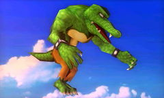 A Kritter in Super Smash Bros. for Nintendo 3DS
