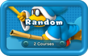 Random Pack icon from Boost Rush Mode in New Super Mario Bros. U.