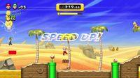 Mario and Luigi playing Boost Mode in New Super Mario Bros. U.