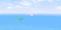 SMS Flying to Isle Delfino.png