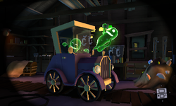 The mission Poltergust 5000 from Luigi's Mansion: Dark Moon