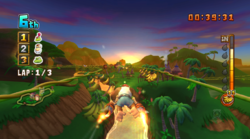 DK Jungle Sunset