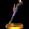 Dark Pit Staff trophy