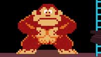 The original Donkey Kong, as seen in Super Smash Bros. Brawl.