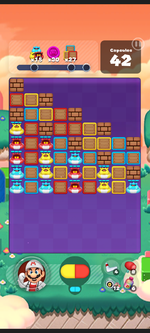 Stage 571 from Dr. Mario World