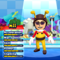 Bee Mario Mii Costume in the game Mario & Sonic at the London 2012 Olympic Games for the Wii.