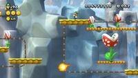 Rising Piranhas from New Super Luigi U.