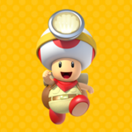The icon for Introducing Captain Toad! from Nintendo Kids Club