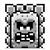 Thwomp icon in Super Mario Maker 2 (Super Mario World style)