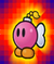 The Catch Card of Bombette from Super Paper Mario
