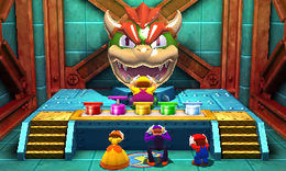 Bowser's Big Blast from Mario Party: The Top 100