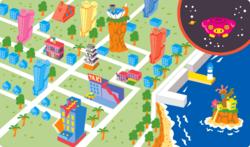 Map of Diamond City