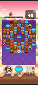 Stage 457 from Dr. Mario World