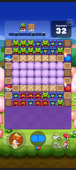 Stage 539 from Dr. Mario World