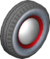 The Ring7_Black tires from Mario Kart Tour