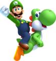 NSLU Luigi and Yoshi Artwork.png