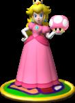Artwork of Princess Peach, from Mario Party 4