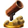 Peanut Popgun trophy from Super Smash Bros. for Wii U