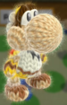 Pit Amiibo Yoshi from Yoshi's Wooly World