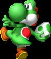 Yoshi in Super Mario 64 DS