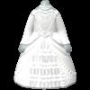 "The ""Matrimony Dress"" Mii costume"
