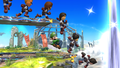 Challenge 95 from the tenth row of Super Smash Bros. for Wii U