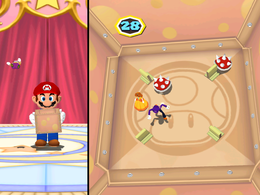 Crate and Peril from Mario Party 6