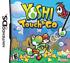 North American box art for Yoshi Touch & Go