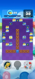 Stage 193 from Dr. Mario World since March 18, 2021