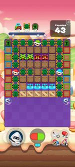 Stage 474 from Dr. Mario World since version 2.1.0