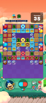 Stage 598 from Dr. Mario World