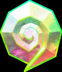 Dream Stone artwork from Mario & Luigi: Dream Team