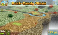 Hole 4 of Rock-Candy Mines (golf course) in Mario Golf: World Tour