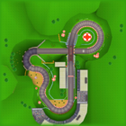 Toad Circuit bottom screen map