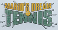 Mario's Dream Tennis Beta Logo.png
