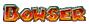 Bowser's name from Mario Kart Arcade GP 2