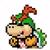 Bowser Jr. icon in Super Mario Maker 2 (Super Mario World style)