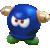Bully icon in Super Mario Maker 2 (Super Mario 3D World style)