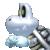 Dry Bones icon in Super Mario Maker 2 (New Super Mario Bros. U style)