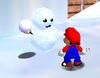 A Mr. Blizzard in Super Mario 64