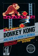 Donkey Kong NES NTSC box art