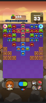 Stage 230 from Dr. Mario World