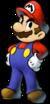 Mario's artwork for Mario & Luigi: Partners in Time.