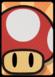 A Mega Mushroom Card in Paper Mario: Color Splash.