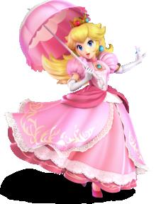 Princess Peach from Super Smash Bros. Ultimate