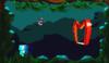 Mario in the level Swamp 2.