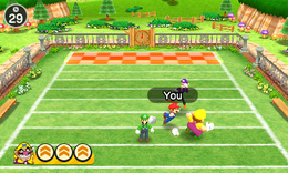 Tackle Takedown from Mario Party: The Top 100
