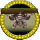 A figure of a Donkey Kong Statue.